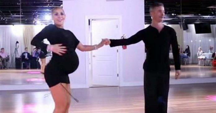 1ac17beb5 Embarazada de 9 meses se opone a dejar de bailar